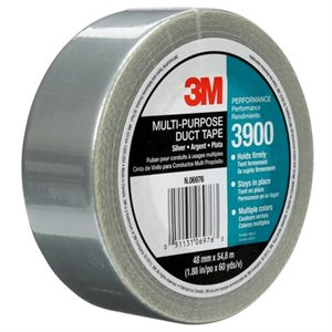 3M™ MULTI-PURPOSE DUCT TAPE, 3900, SILVER, 48 MM X 54.8 M