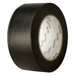 3M™ VINYL DUCT TAPE 3903 BLACK, 49 IN X 50 YD 6.3 MIL, 2 PER CASE BULK