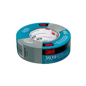 3M™ DUCT TAPE, 3939, SILVER, 101 MM X 55 M, 12 PER CASE