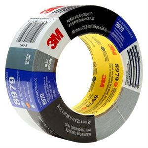 3M™ PERFORMANCE PLUS DUCT TAPE, 8979, SLATE BLUE, 12 IN X 60 YD MASTER LOG, 2 PER CASE