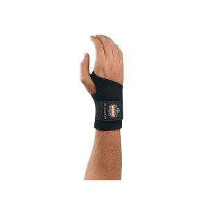 ERGODYNE 16612 – PROFLEX® 670 AMBIDEXTROUS SINGLE STRAP WRIST SUPPORT SMALL