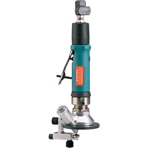 "DYNABRADE 51332 - .7 HP ROUTER, 3-1/2"" BASE, CENTRAL VACUUM"