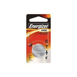 ENERGIZER® 2450 COIN LITHIUM BATTERIES