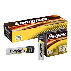 ENERGIZER EN92 - INDUSTRIAL AAA BATTERIES, 24/PQT