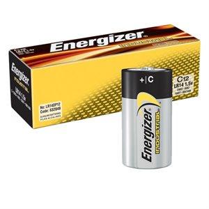 ENERGIZER EN93 - INDUSTRIAL C BATTERIES, 12/PQT