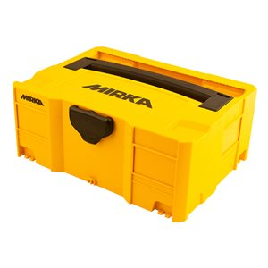 """MIRKA MIN6532011 - 15.75"""" x 11.81"""" x 6.22"""" Mirka CEROS Case/ T - Lock 400x300x158mm,  1/pkg"""